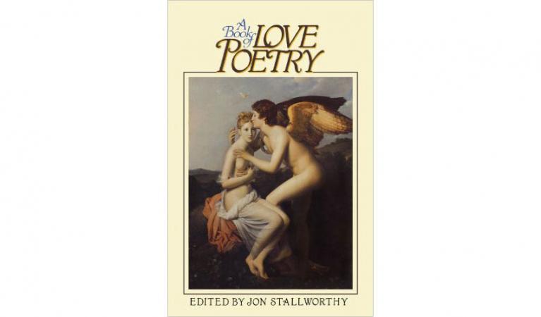 Un livre de poésie d'amour