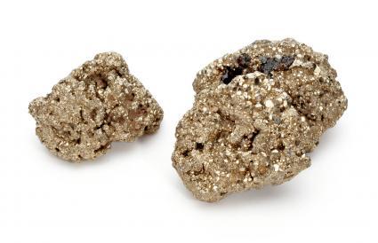 La pyrite trompe l'or