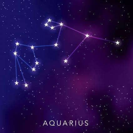 Constellation des étoiles du Verseau
