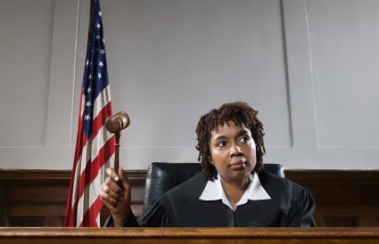 Portrait d'un juge