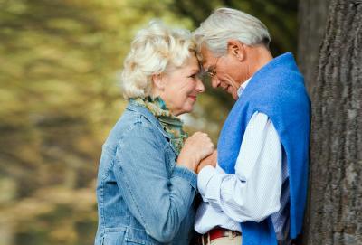 Couple heureux ensemble