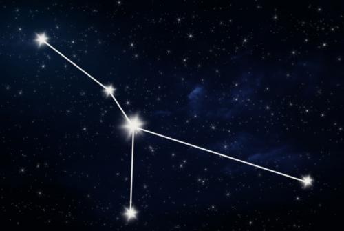 Dessin de la constellation du cancer