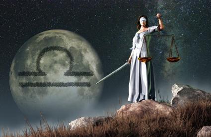 La Balance est le septième signe astrologique du zodiaque.  Son symbole est la balance.