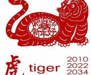 Years of the tiger