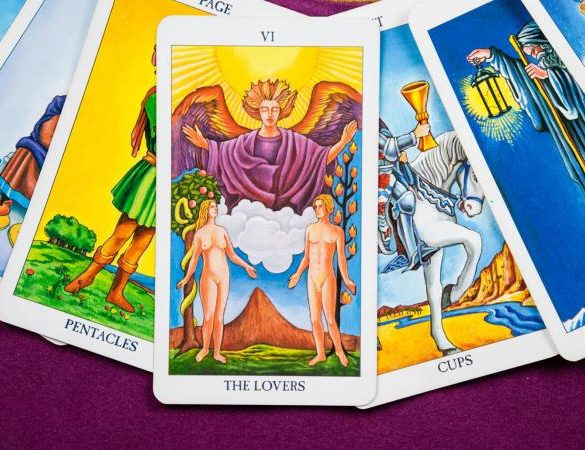 The Lovers, Tarot cards