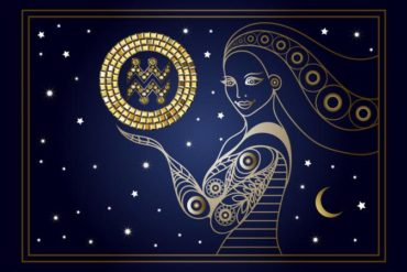 zodiac sign Aquarius symbols