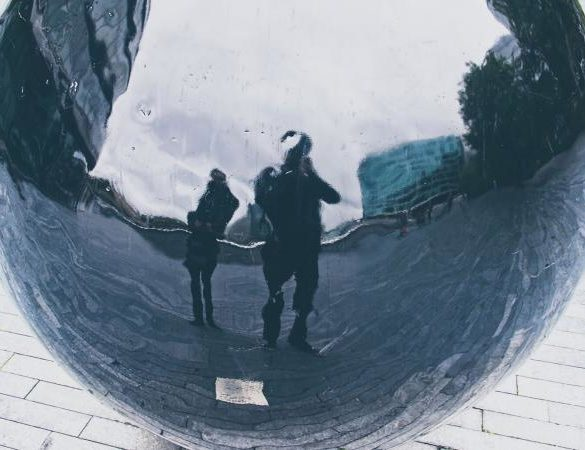 distorted reflection