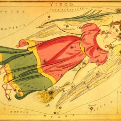 Virgo Zodiac Map