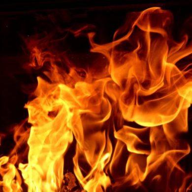 Heat of fire