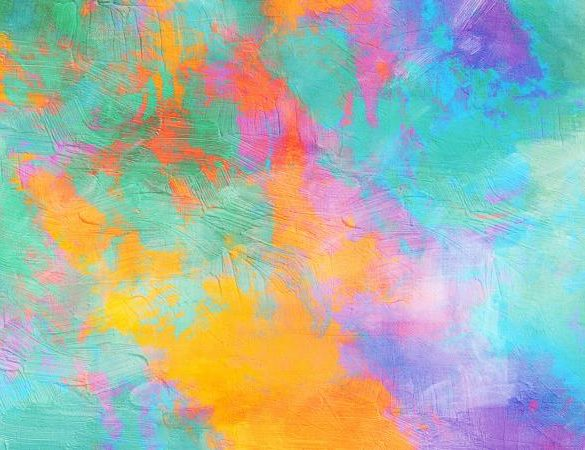 Abstract vibrant texture