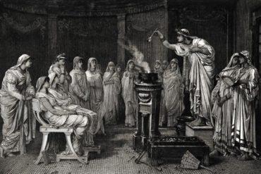 The school of vestals
