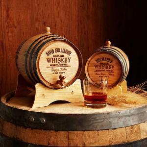 Baril de whisky personnalisé chez Uncommongoods