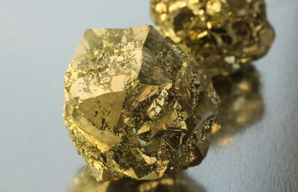 Roches de pyrite